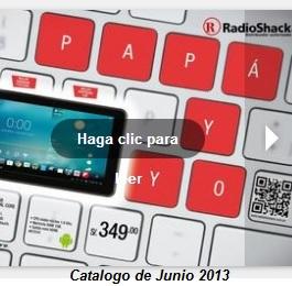 encarte radioshack junio 2013