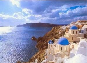 Santorini Greece Pemandangan Terindah di Dunia
