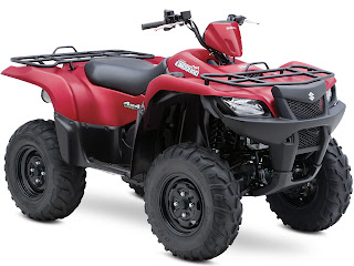 2013 Suzuki KingQuad 500AXi Power Steering 30th Anniversary Edition ATV pictures 2