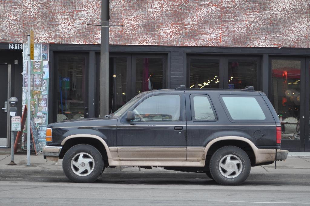 Minneapolis Street Sighting: Ford Explorer Eddie Bauer Two Door