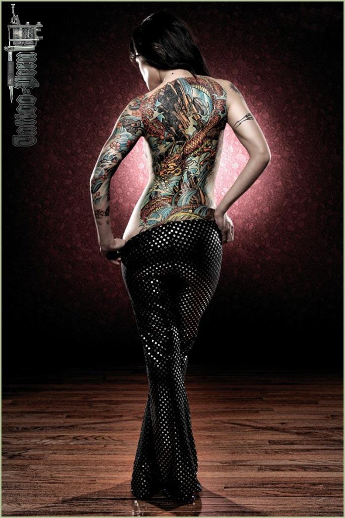 FOTOGRAFIAS DE TATUAJES PARA CHICOS Y CHICAS Mujer_espalda_tatuada