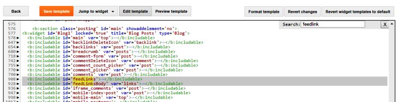 kode feedlink