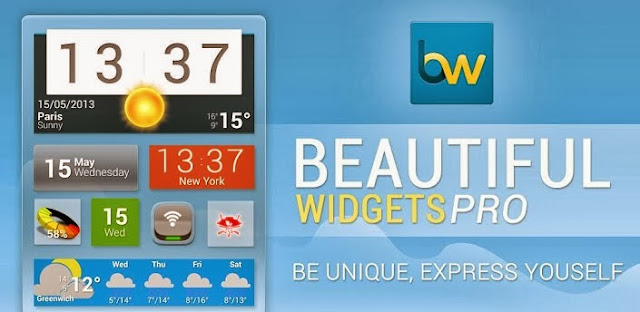 Beautiful Widgets Pro Apk v5.6.1b1 Full