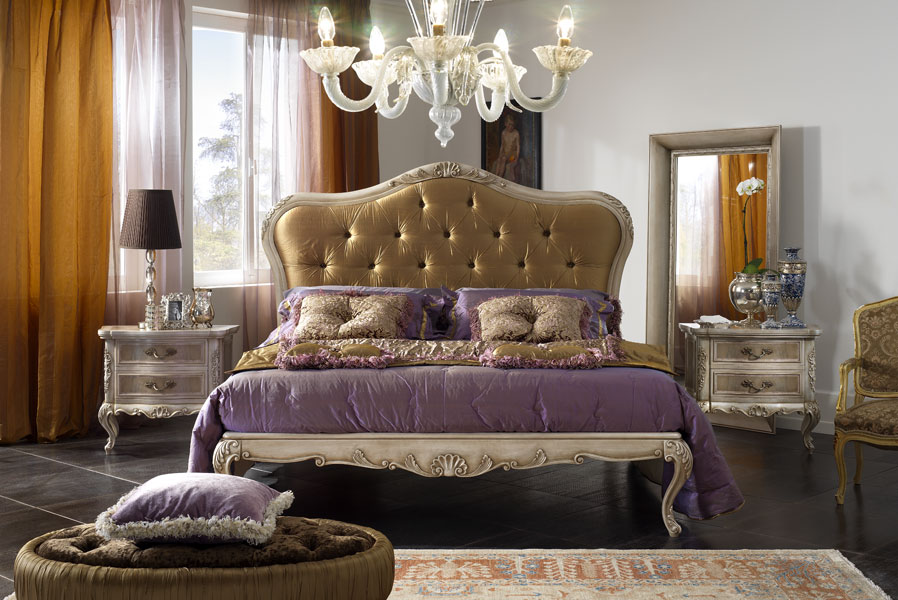 Dormitorios estilo cl sico dormitorios con estilo - Lampadario camera da letto classica ...