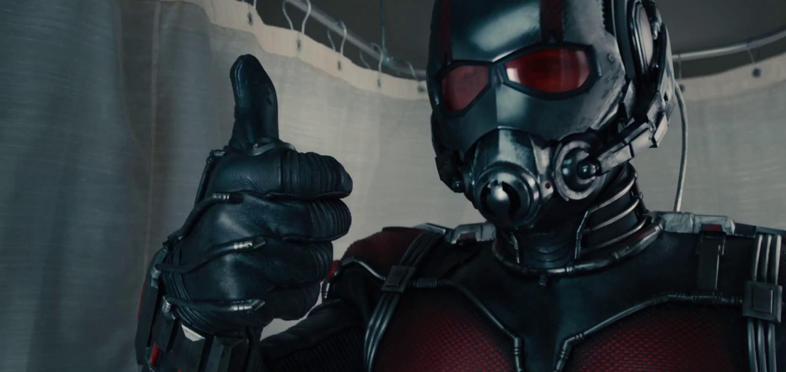 Paul Rudd é o novo herói da Marvel Studios no primeiro trailer de Homem-Formiga