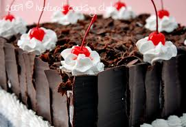 RESEP BLACK FOREST CAKE KUKUS LEMBUT