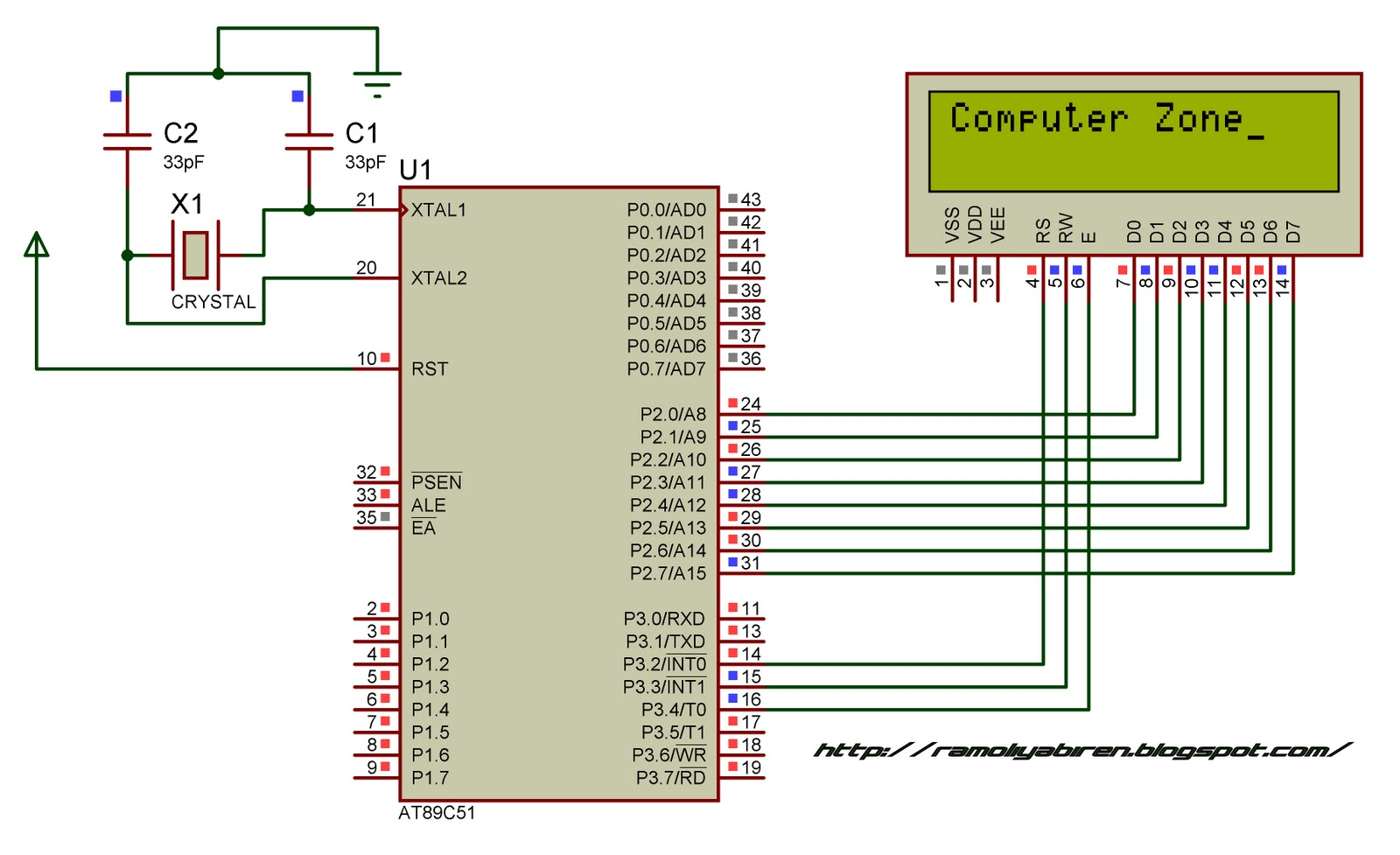 How To Interface 16x2 Lcd With 8051 Microcontroller 5782715 8052 Circuit Page 3 Circuits Nextgr
