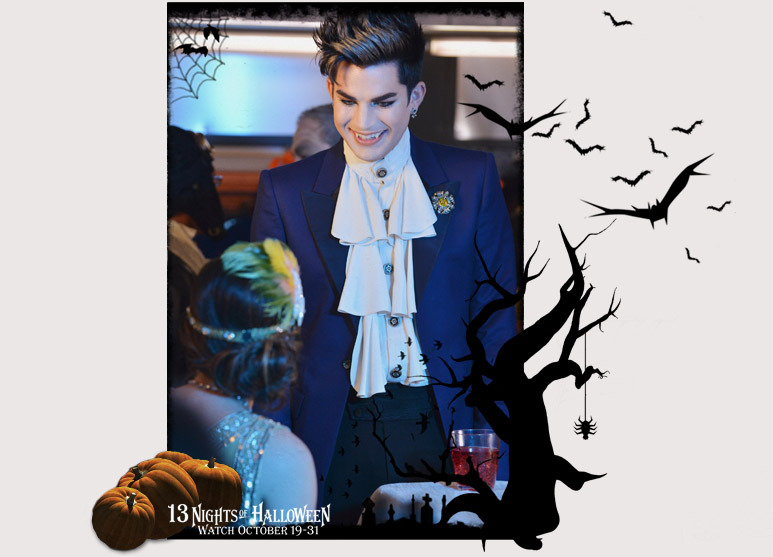 adam lambert pretty little liars fangs