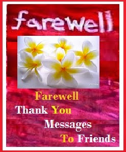 short farewell message sample for boss | just b.CAUSE