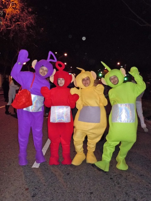 West Hollywood Halloween Carnaval Teletubbies
