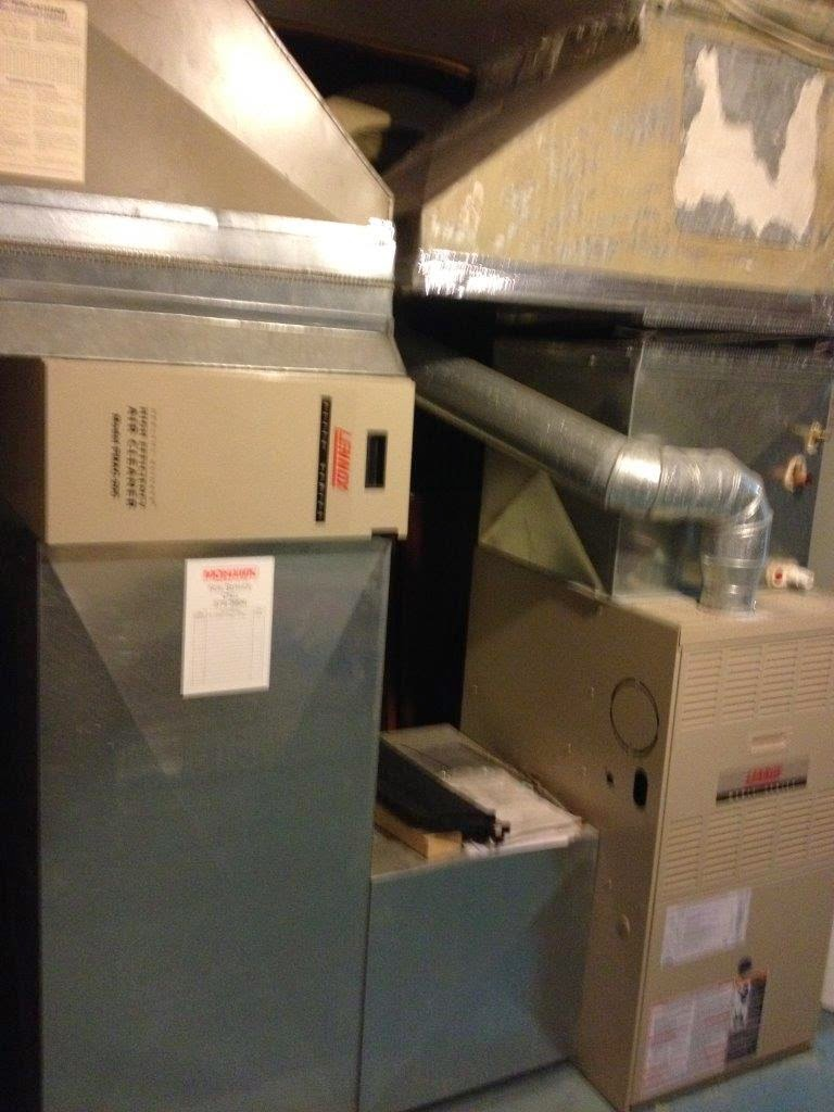 how to remove a furnace