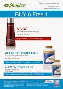 Promo Vivix & Alfalfa Buy 6 Free 1