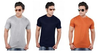 Rediff Offer: Clifton Round Neck T-Shirts just for Rs.125 with Free Home Delivery
