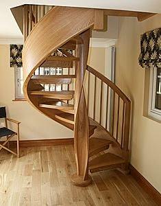 Decoracion actual de moda escaleras tipo caracol for Como trazar una escalera de caracol de concreto