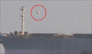 UFO cerca de buque ruso