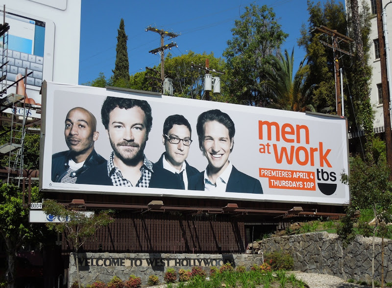 Men At Work season 2 billboard