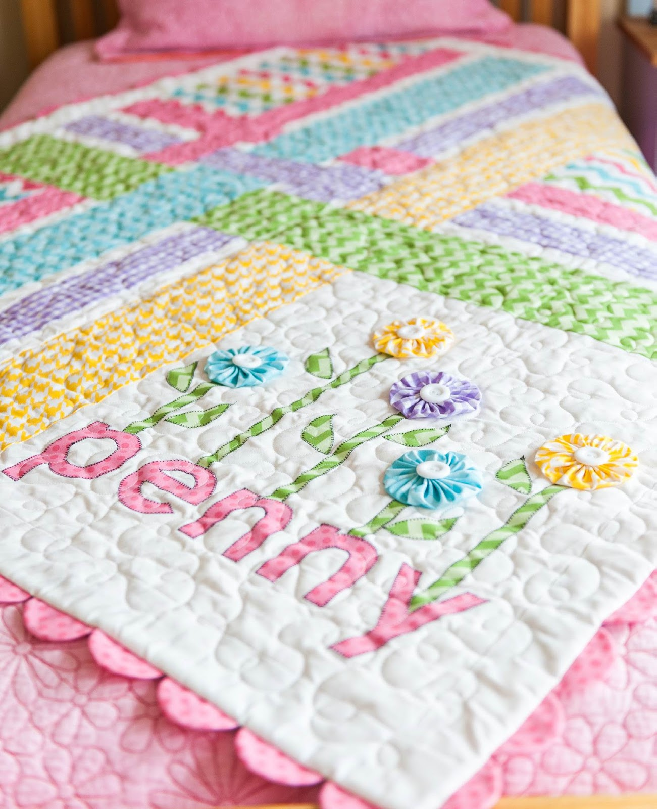 Free baby bed quilt patterns - Free Pattern Day Baby Quilts Part 2