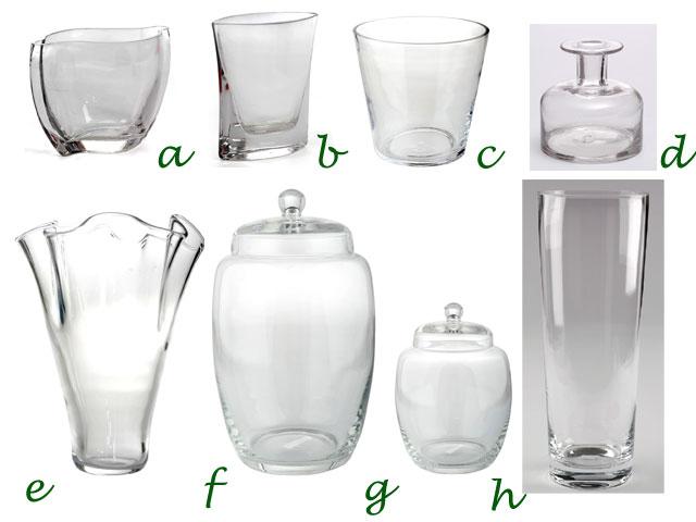 Decoraci n artico ideas y consejos con flores y plantas - Decoracion de jarrones de cristal ...