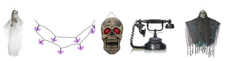 range of decorations that will be sure to give anyone a fright starting from just 7 asda has a selection of demon decs that will turn your home into