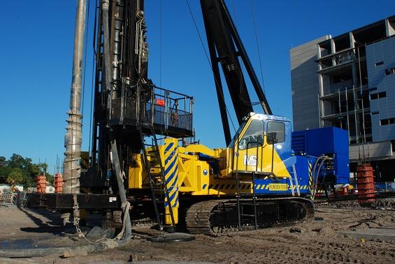 Auger gear image auger cast displacement piles