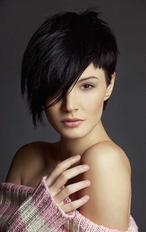 Asymmetrical Haircuts For Round Facesjpg