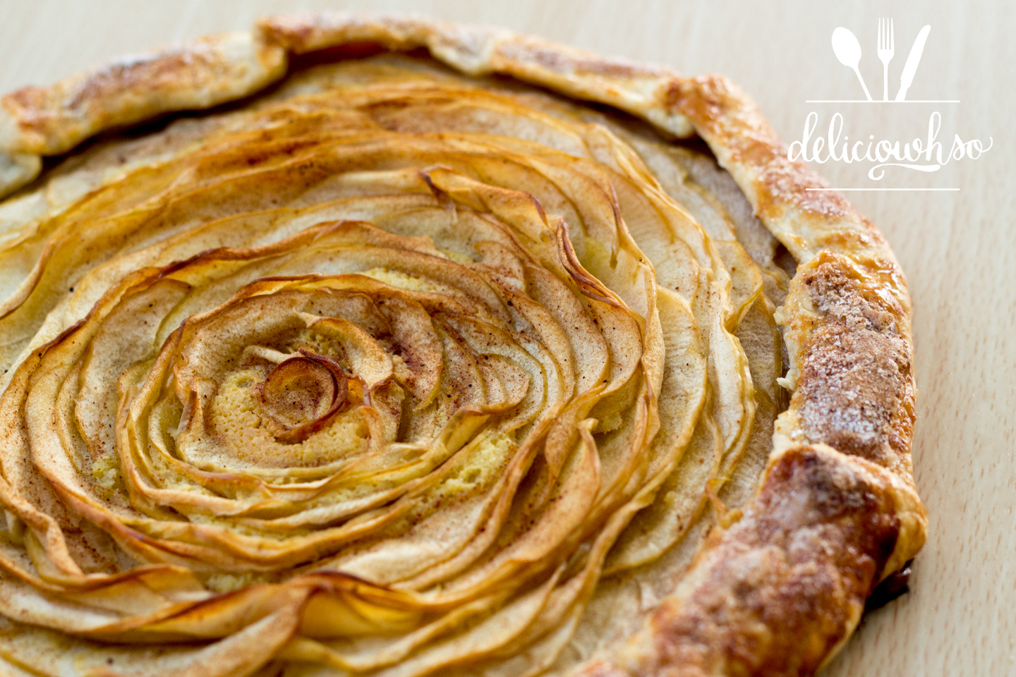 DELICI-OWH-SO: Apple Galette