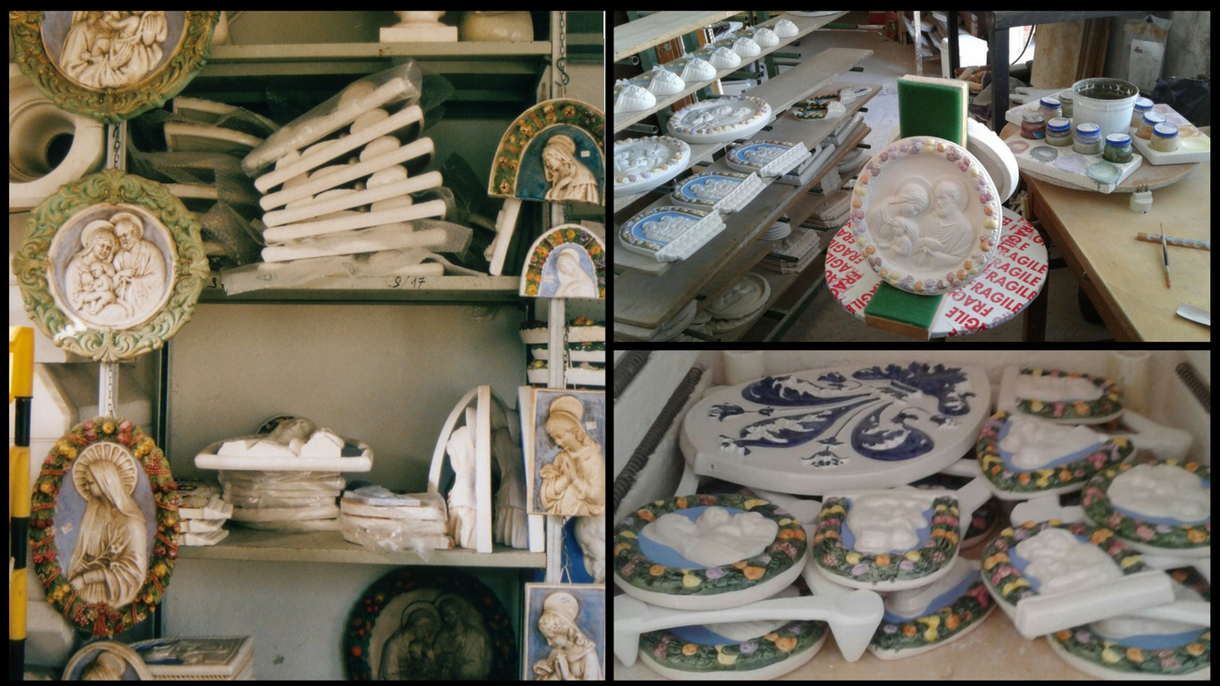 Della Robbia ceramics of any kind