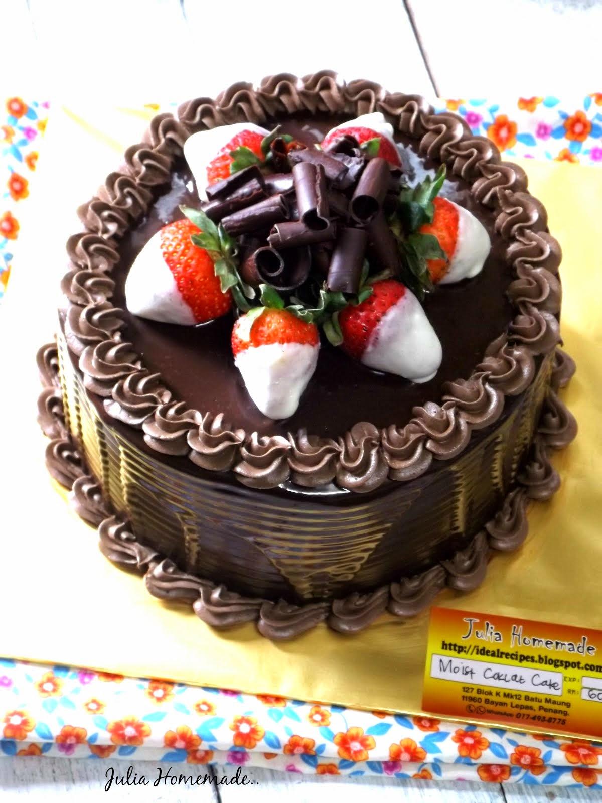 Cake Coklat Lembab