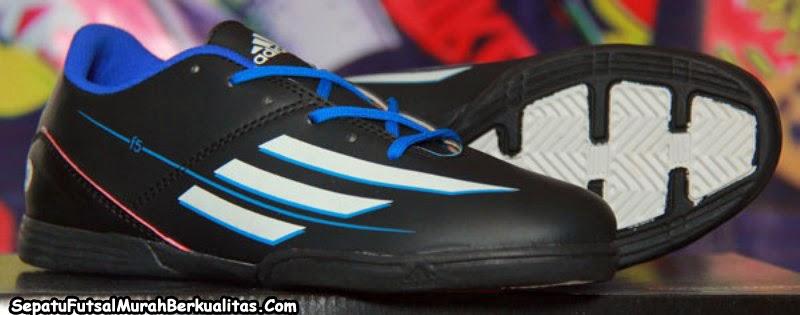 Jual Sepatu Futsal Adidas F5 Messi Hitam 3