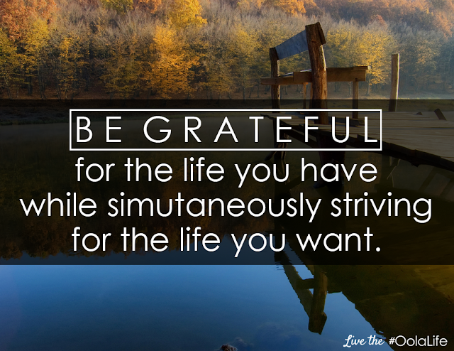 Be grateful #oola challenge #sevenweeksoola