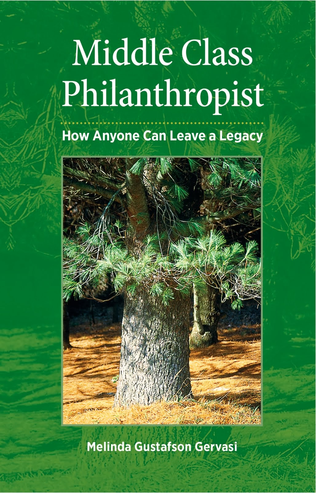 Middle Class Philanthropist: How anyone can leave a legacy by Melinda Gustafson Gervasi.