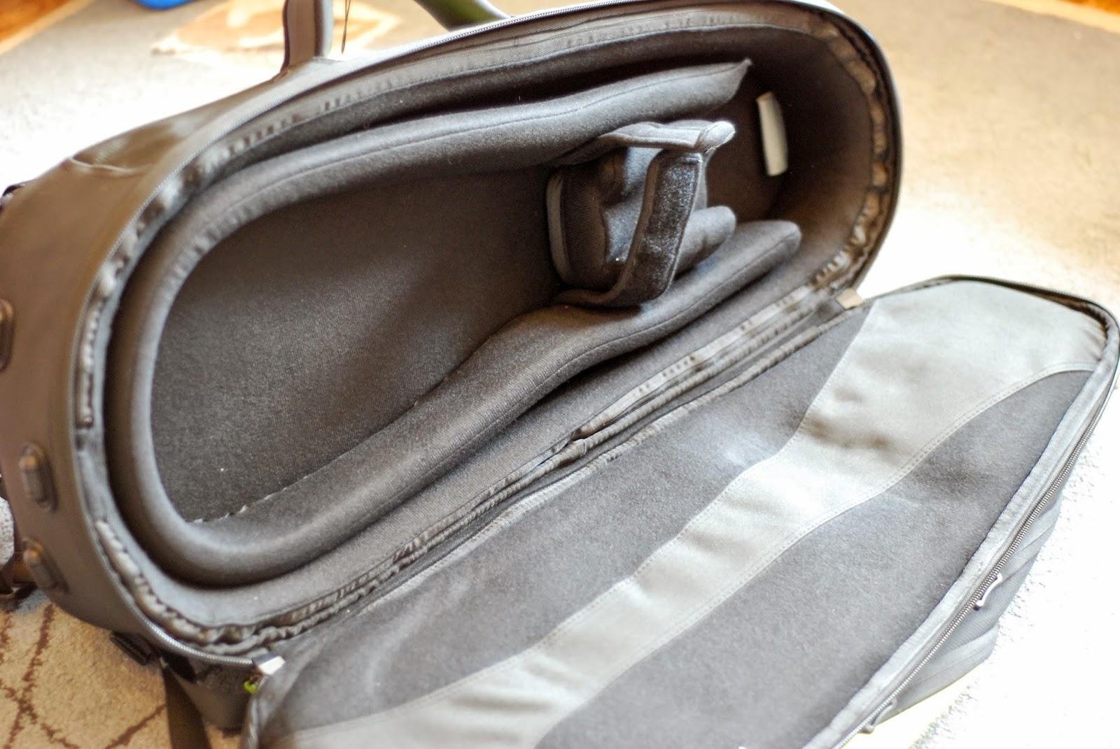 Fusion Premium Ukulele Gig Bag inside
