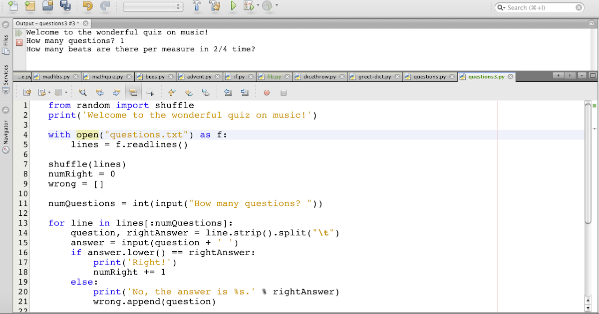 how to make a simple program in python