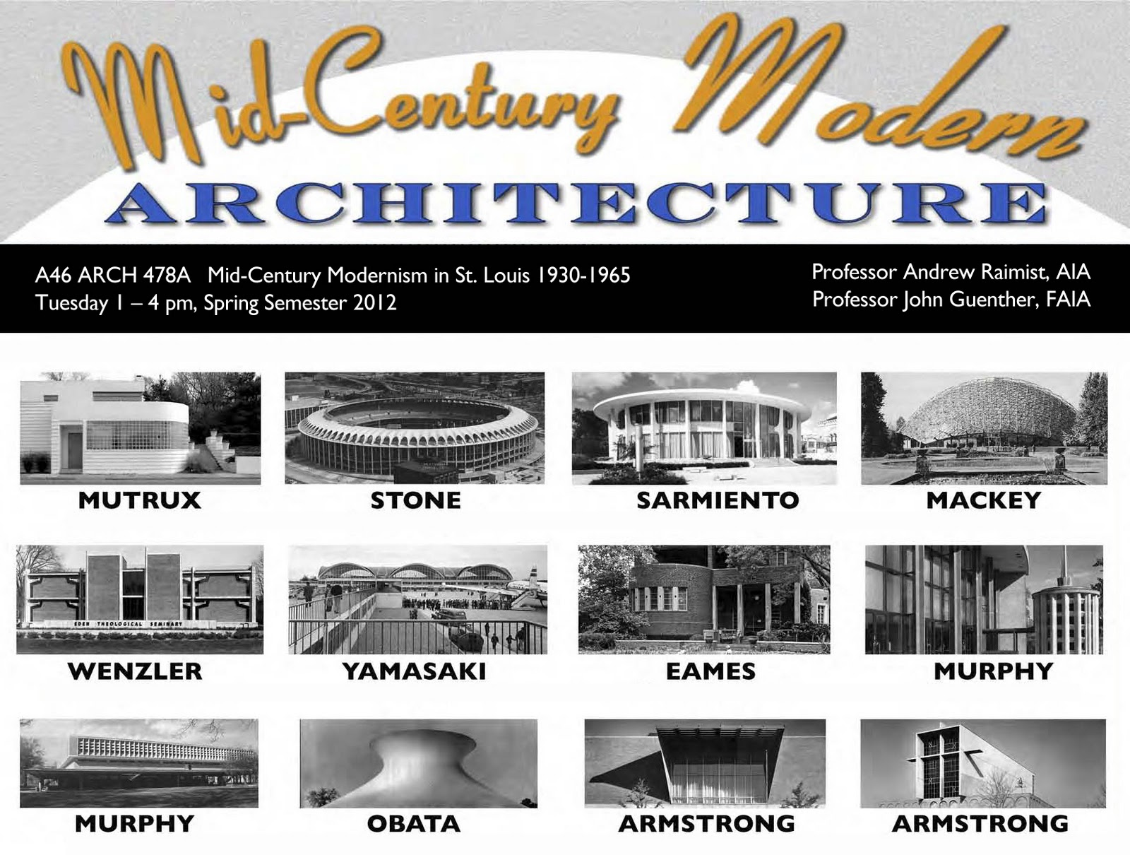 Architectural ruminations mid century modern architecture for St louis architecture