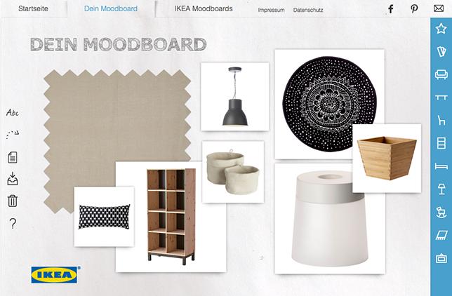 Ynas Design Blog, Ikea Moodboards
