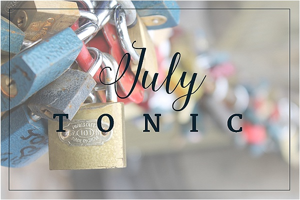 July Tonic - Curious Tonic