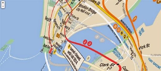 Maps Mania The Best New York Transit Maps – Best Maps
