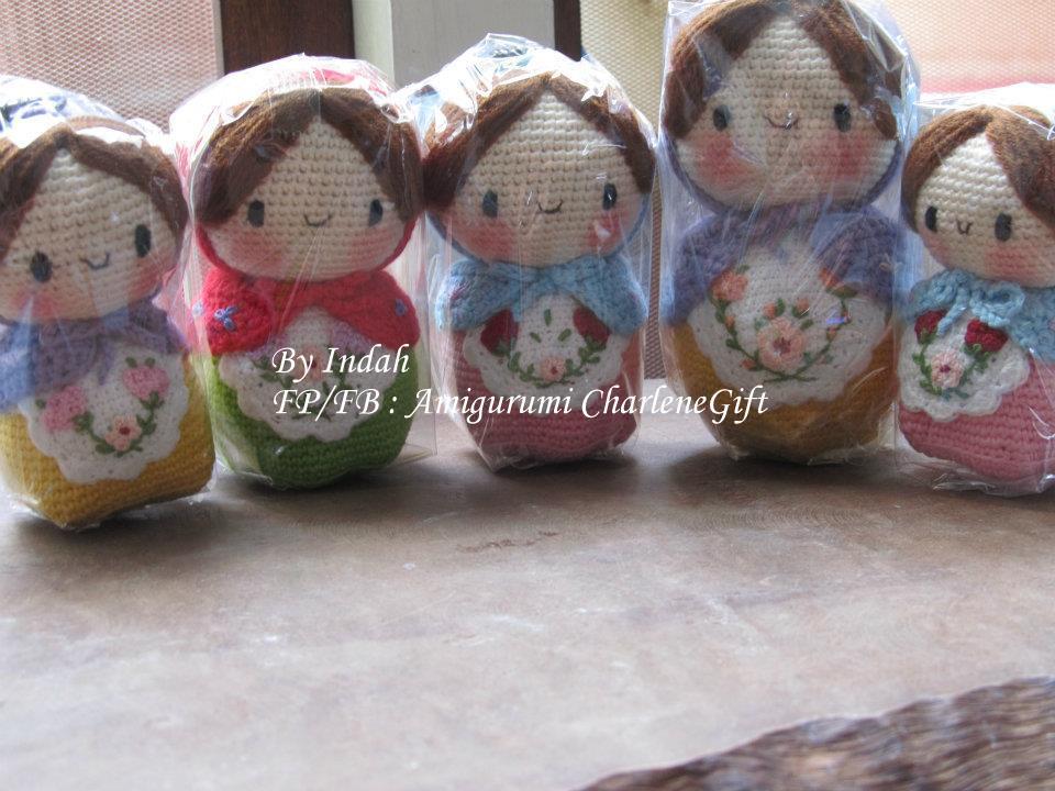 Amigurumi Boneka : Amigurumi charlene gift n craft