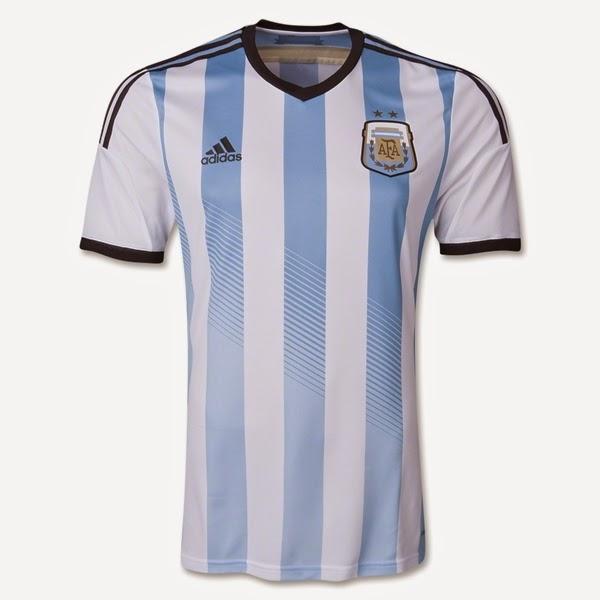 Jersey Negara Argentina - Piala Dunia 2014