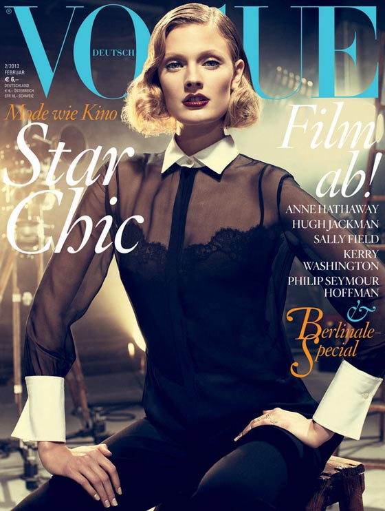 vogue germany february 2013 cover