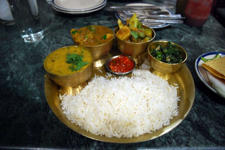 ... tasty. More over than other food Nepali prefer Daal, Bhat, Tarkari