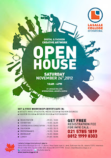 Open House November 2012 LaSalle College International Jakarta