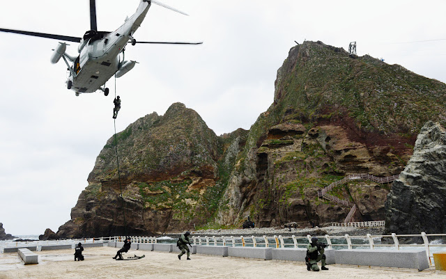 Dokdo exercise