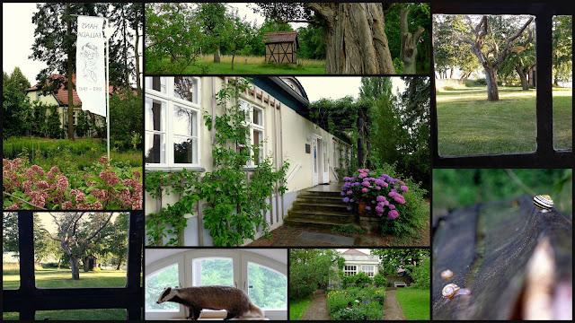 Das Hans Fallada Haus mit Garten in Carwitz