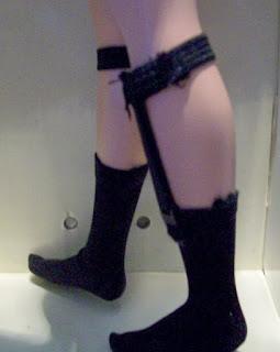 Fashion Insider Ken's black sock garters
