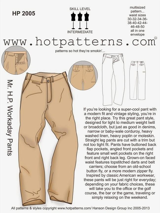 Workaday Pants