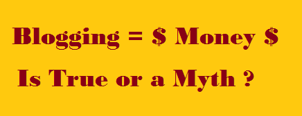 Blogging, Money, Make Money Blogging, Blogging Secret