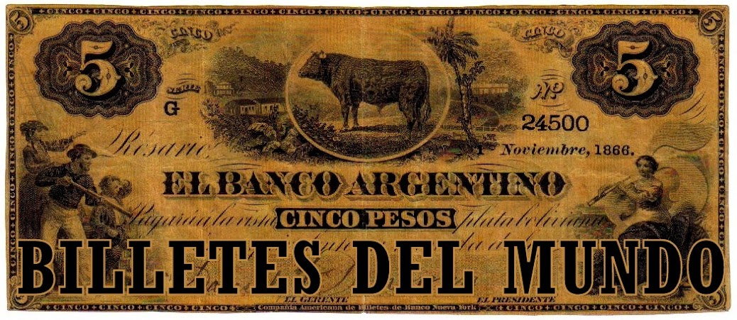 BILLETES DEL MUNDO