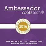RootsTech 2016 Ambassador