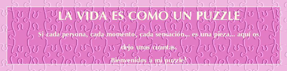 La vida es como un puzzle